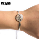 Keep Calm Cat Bracelet