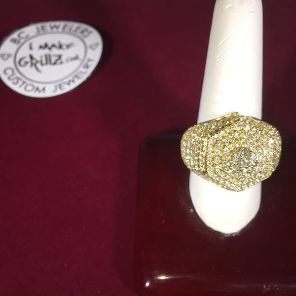 King Tut Diamond Ring