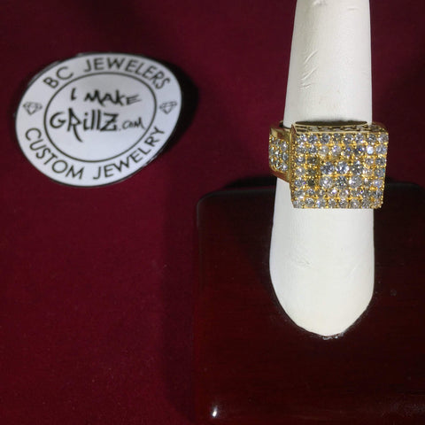 Square Top Diamond Ring