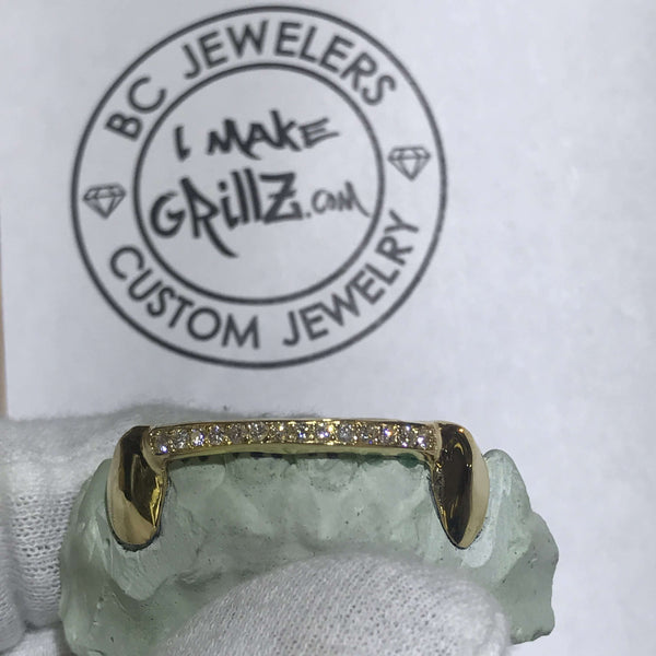 Diamond Bar Grillz (One Row)