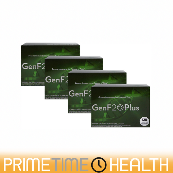 GenF20 Plus 4 Boxes Feel Young Again 480 Tablets Naturally Restore IGF1 Levels