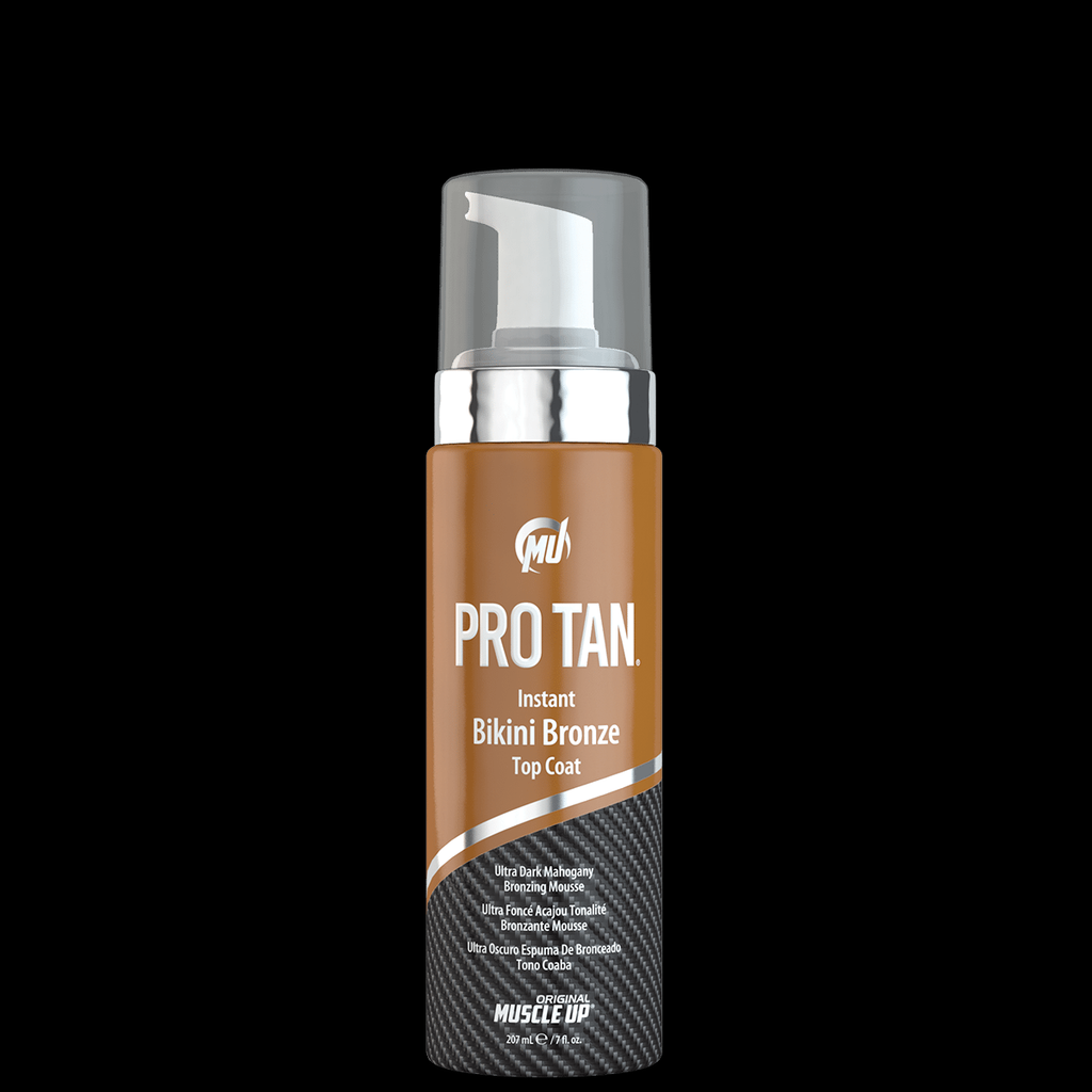Pro Tan Instant Bikini Bronze Top Coat Ultra Dark Mahogany Bronzing Mousse