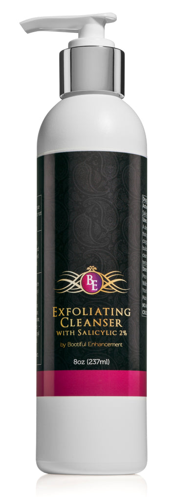 Bootiful Enhancement Deep Exfoliating Cleanser w/ Salicylic Aloe for Smooth Skin