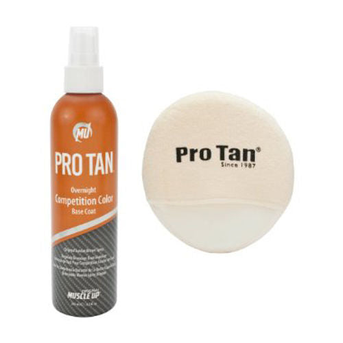 Pro Tan Overnight Competition Color Original Suntan Brown by Performance Brands