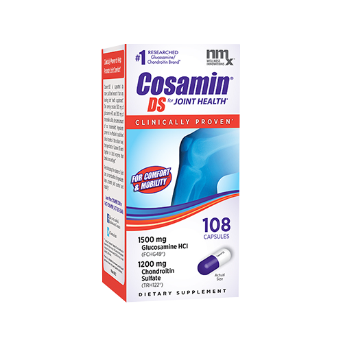 Cosamin DS for Joint Health #1 Researched Glucosamine Chondroitin Brand 108 Caps