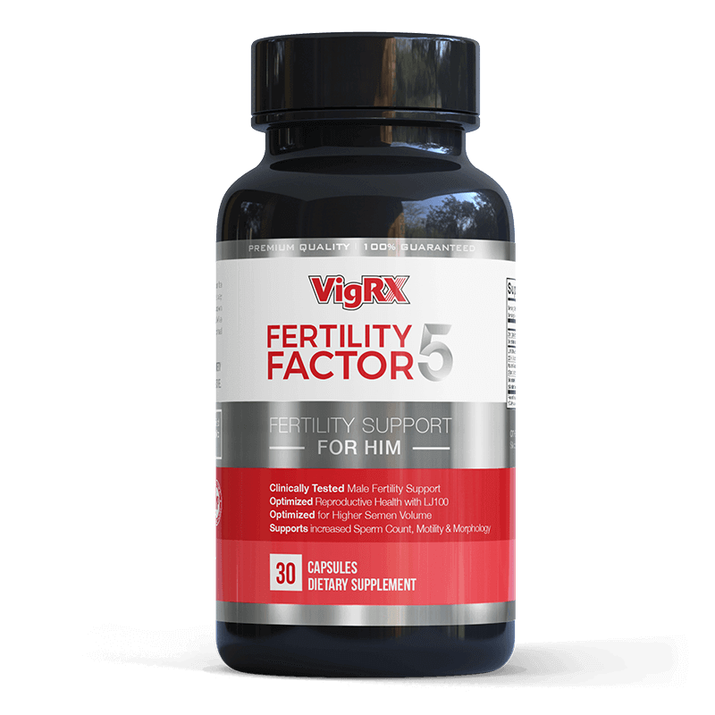 Fertility Factor 5 - VigRX Fertility Support Supplement For Him - 30 Capsules