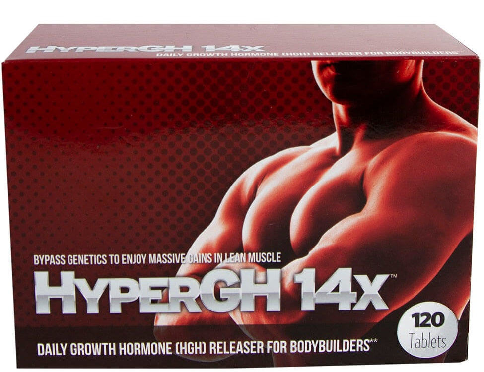 HyperGH 14x  Daily Growth Hormone Releaser for Bodybuilders 120 count