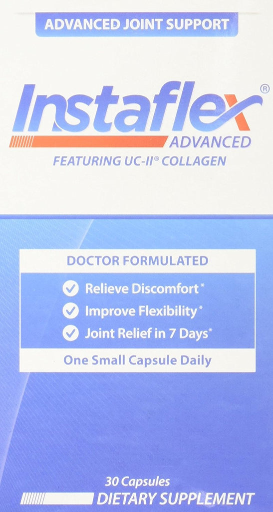 Instaflex Advanced - Doctor Formulated Joint Support Supplement - 30 Capsules