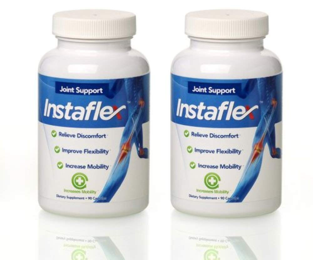 Instaflex Joint Support 90 Capsules 2 Pack (2 Month Supply) Increases Mobility