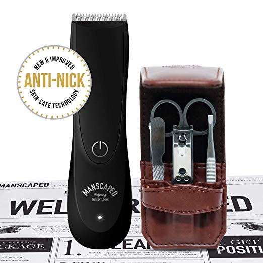 Manscaped Gentleman's Package - Lawn Mower 2.0 + 5 piece Nail Kit + Shaving Mats