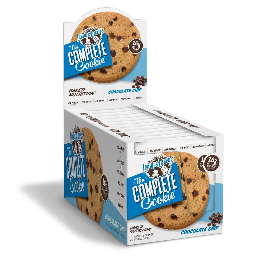 Lenny & Larry's The Complete Cookie, Chocolate Chip, 4 Ounce Cookies - 12 Count
