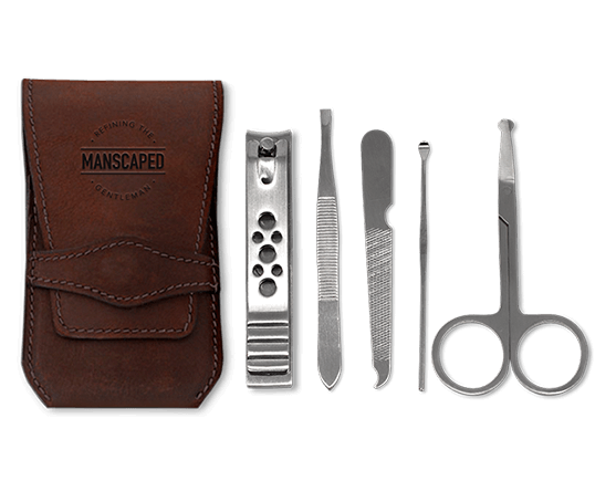 The Shears Manscaped Nail Kit Scissors Nail Clippers Tweezers Ear Pick Nail File