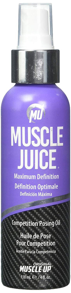 Muscle Juice Competition Posing Oil, Maximum Definition, 4 fl oz (118.5 ml)