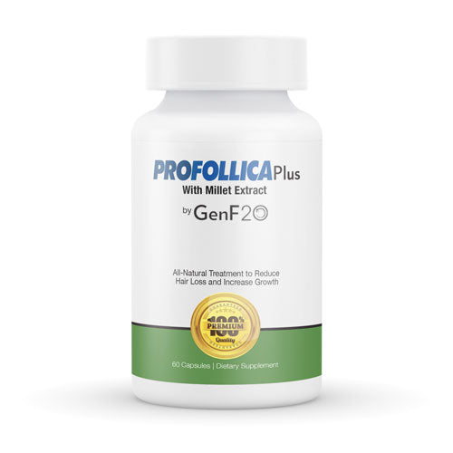 Profollica Plus with Millet Extract by GenF20 Reduce Hair loss 60 Capsules