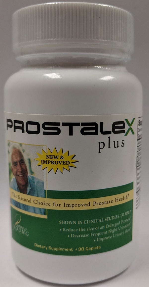 Prostalex Plus 30 Caplets Naturally Young Long Life Solutions Prostate Health