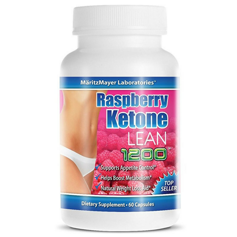 Raspberry Ketones Lean 1200 MaritzMayer Laboratories 60 Capsules Diet Support