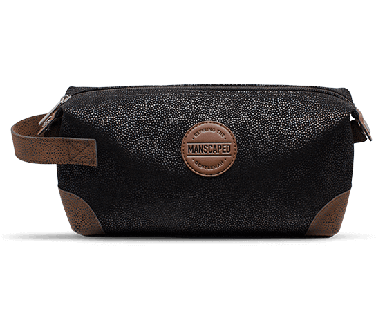 "The Shed Manscaped Travel/Storage Bag Water Resistant Compact 9"" x 4"" x 6"" Size"