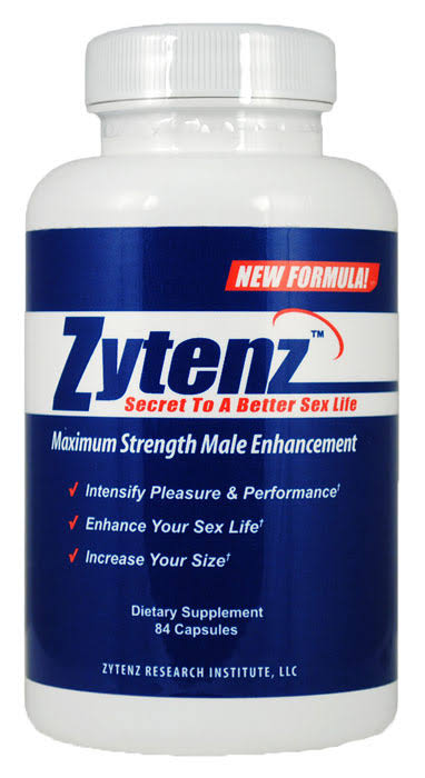 ZYTENZ - Maximum Strength Male Supplement New Formula 84 Capsules