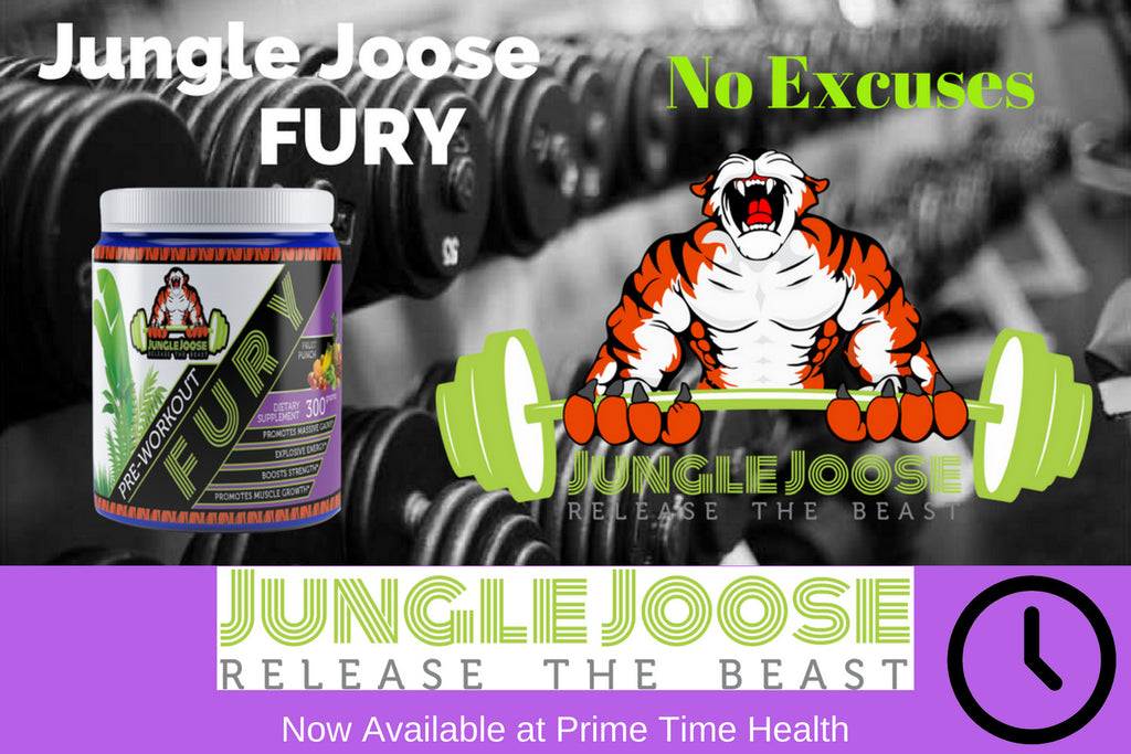 Jungle Joose Fury Pre Workout