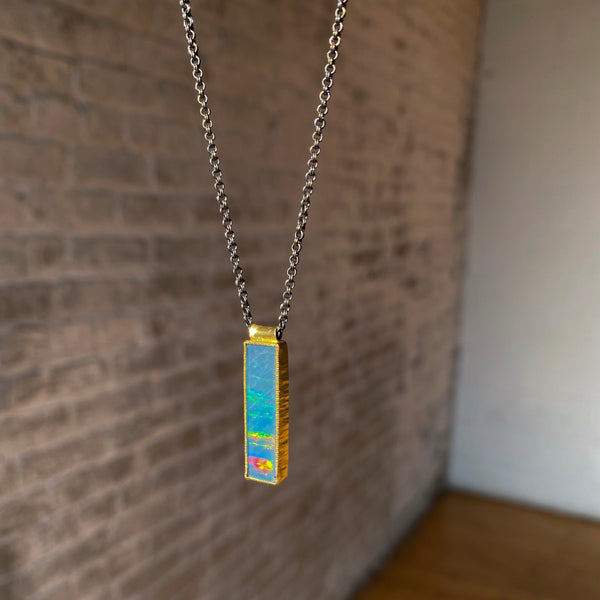 North-South Opal Necklace