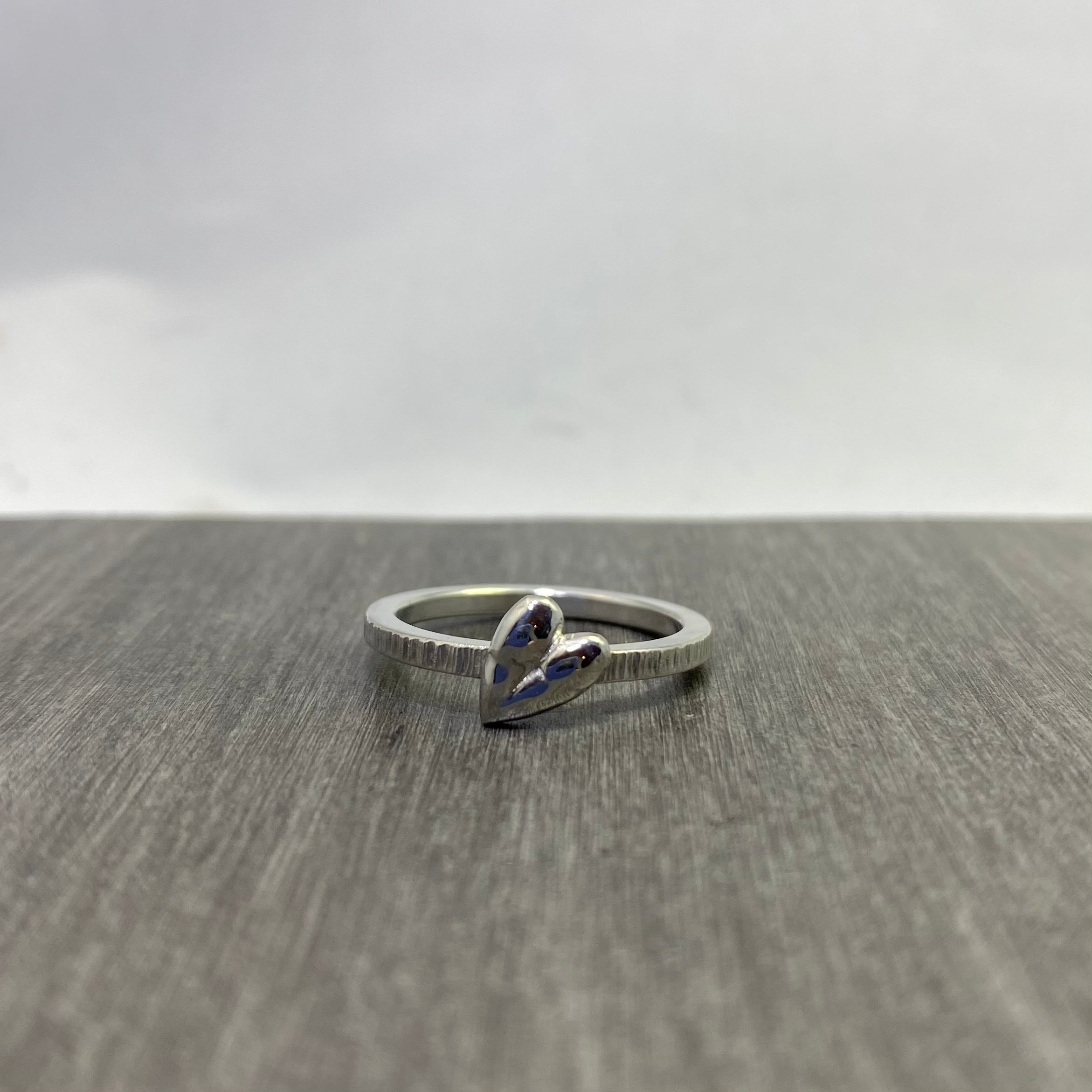 Teeny Heart ring #1