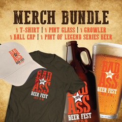 Bad Ass Beer Fest Merchandise Package