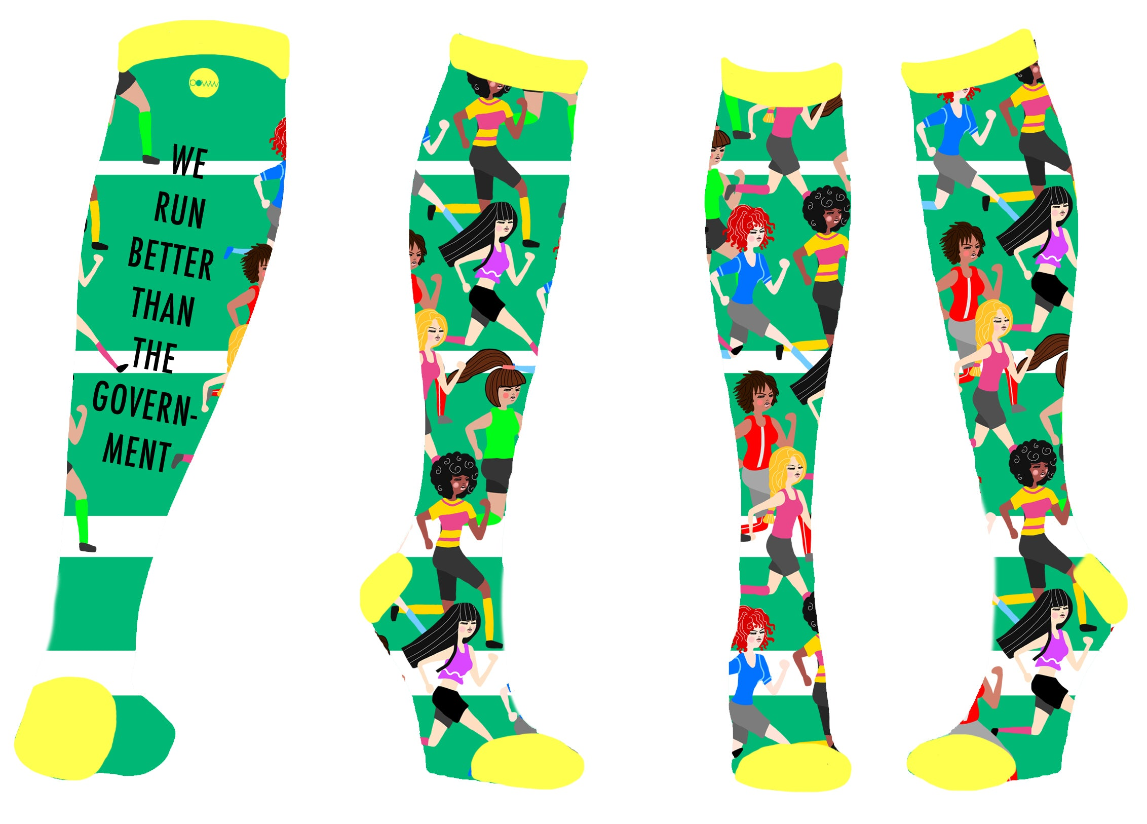 Power Socks - We Run Better - Design Inspiration