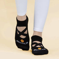 Be a Warrior Not a Worrier – Ankle Grip Socks