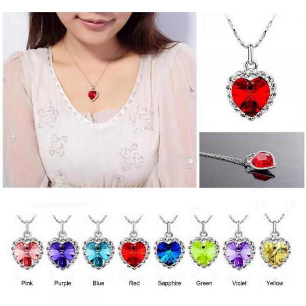 Imported Austrian Crystal Heart With Swarovski Elements. FREE ITEM. Ships from the US