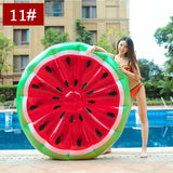 Inflatable Swimming Ring Giant Pool Lounge Adult Pool Float Mattres Swimming Circle Life Buoy Raft Kid Swimming Water Pool Toys