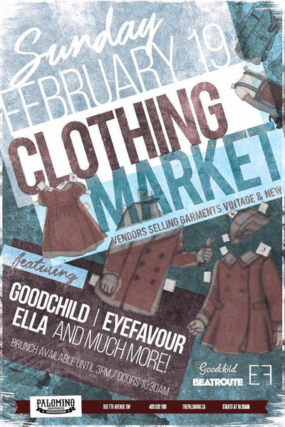 Pop-up Clothing Market, Beer and Brunch
