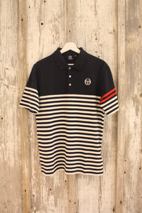 Sergio Tacchini - Cooper Polo in Navy/Ivory