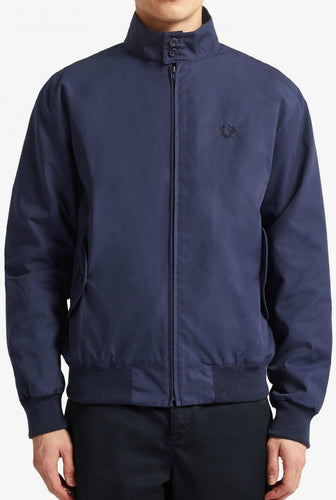 Fred Perry - Made in England Harrington Jacket J7320 in Navy