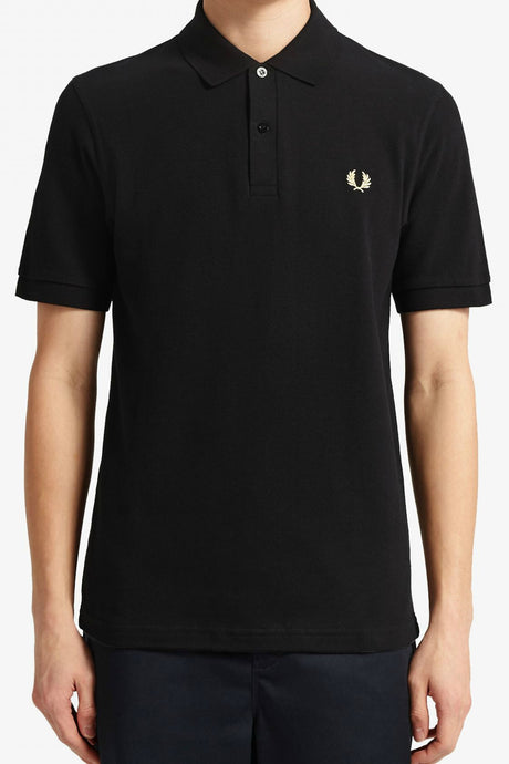 Fred Perry Polo Shirt M3 in Black
