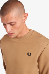 Fred Perry - M7535 Sweater in Warm Stone