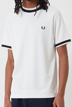 Load image into Gallery viewer, Fred Perry - M7605 Raglan Sweat Top in Snow White