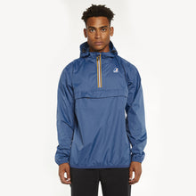 Load image into Gallery viewer, K-Way - Overhead 1/2 Zip Leon Jacket - Blue Deep