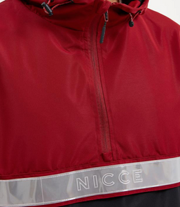 Nicce Casta Cagoule in Merlot Red