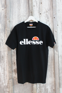 Ellesse - Big Logo Prado T-shirt in Black