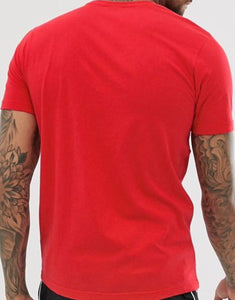 Ellesse - Big Logo Prado T-shirt in Red