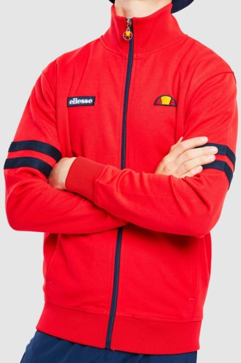 Ellesse - Roma Jacket in Red