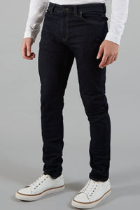 Farah - Drake Soft Stretch Jeans in Dark Rinse Blue