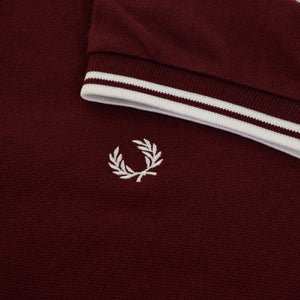 Fred Perry - M3600 in Port / White / White