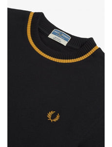 Fred Perry - Reissue M7 T-Shirt Black/Champagne