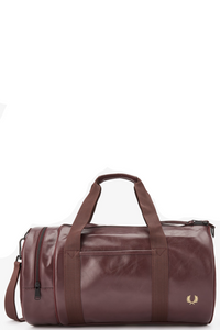 Fred Perry - Tonal Barrel Bag L7223 in Port