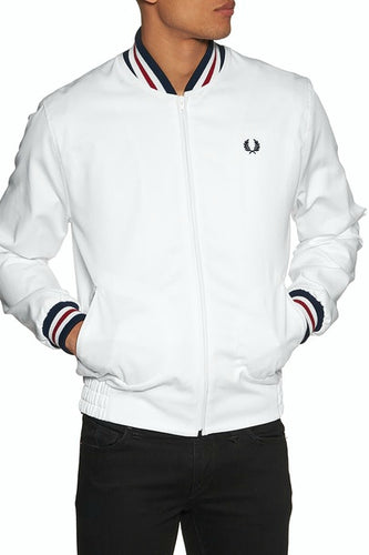 Fred Perry - J7322 Reissue Bomber in White