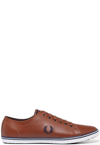 Fred Perry - Kingston Leather Shoe in Tan - B6237U