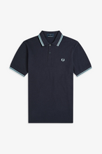 Load image into Gallery viewer, Fred Perry - M12 Polo Shirt in Navy/Ice