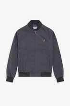 Load image into Gallery viewer, Fred Perry - Miles Kane Houndstooth Bomber Jacket SJ7006