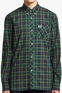 Fred Perry - Reissue M7307 Tartan Shirt in Green